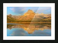 Glacier National Park Montana Picture Frame print