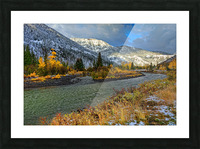 Yellowstone National Park Picture Frame print