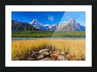 Banff National Park Alberta Canada Picture Frame print