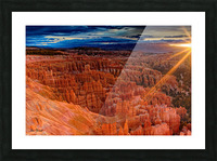 Bryce Canyon National Park Utah Picture Frame print