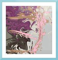 Art Nouveau Pour Picture Frame print