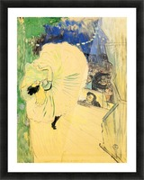 The coil by Toulouse-Lautrec Picture Frame print