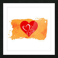 Love Picture Frame print