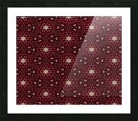 pomegranate Picture Frame print