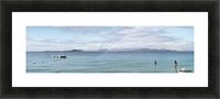 Panorama of Pontoon and Fuerteventura Picture Frame print