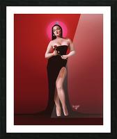 Sassy Valentine Picture Frame print