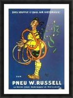 Pneu W.Russell Impression et Cadre photo