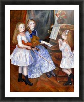 The daughters of Catulle Mendes Picture Frame print