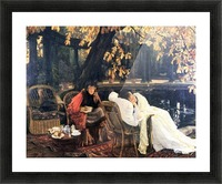The end by Tissot Picture Frame print