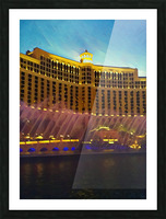 caesars palace fountains Picture Frame print