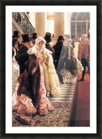The fashionable woman by Tissot Picture Frame print