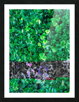 Leaves Picture Frame print