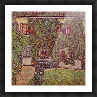The House of Guard by Klimt Picture Frame print