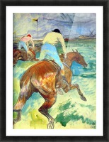The Jockey by Lautrec 1899 Picture Frame print