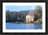Cole Island (Victoria, BC) Picture Frame print