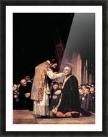 The last communion of St. Joseph of Calasanza by Goya Picture Frame print