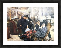 The last evening by Tissot Picture Frame print