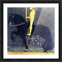 The life of a struggle (The Golden Knights) by Klimt Picture Frame print