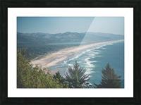 Neahkahnie Beach Picture Frame print