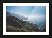 Big Sur California Picture Frame print