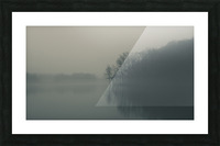 Fog and Peace Picture Frame print
