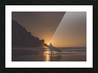 Morro Bay Surfer Picture Frame print