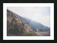 Pacific Coast Highway Picture Frame print