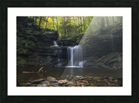 RB Ricketts Falls Picture Frame print