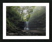 Harrison Wright Falls Picture Frame print