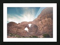 The Double Arch Picture Frame print