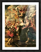 The Medici s queen escapes from Blois by Rubens Picture Frame print