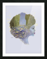 Weeping Willow Picture Frame print