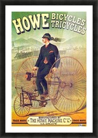 Howe Bicycles Picture Frame print