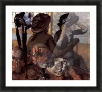 The milliner 1 by Degas Picture Frame print