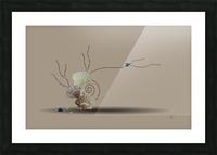Incensed Picture Frame print