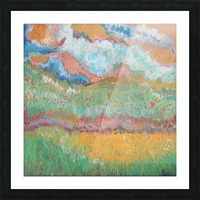 Colors in Nature Picture Frame print