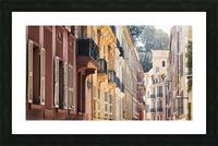 Monaco Street Picture Frame print