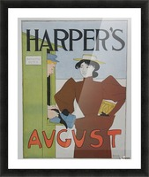 Harper's August Bathing Picture Frame print