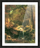 The Mountain by Bierstadt Picture Frame print