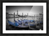 VENICE Grand Canal and St Mark's Campanile Picture Frame print