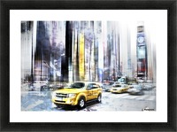 City-Art TIMES SQUARE II Picture Frame print