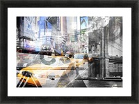 New York City Geometric Mix No. 9 Impression et Cadre photo