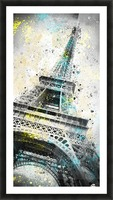 City-Art PARIS Eiffel Tower IV Picture Frame print