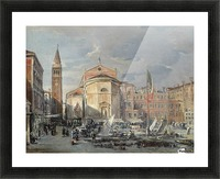 A Venetian square Picture Frame print