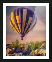 The Adventure Begins Picture Frame print