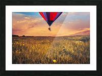 The Aeronaut Picture Frame print