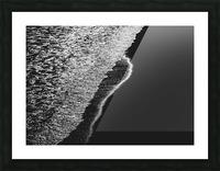 Moonlight Waves Revere Beach Picture Frame print