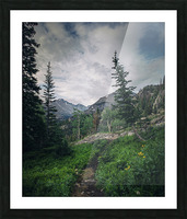 Rocky Mountain National Park Picture Frame print