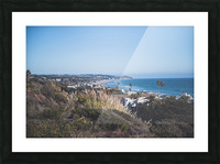 Malibu California Picture Frame print