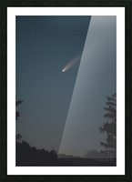 Comet NEOWISE Picture Frame print
